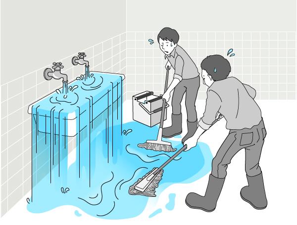 対処療法的なの歯科治療は「水道の蛇口を開けっ放しにしたままで、床を拭くモップの改良や開発にばかり精を出しているようなもの」
