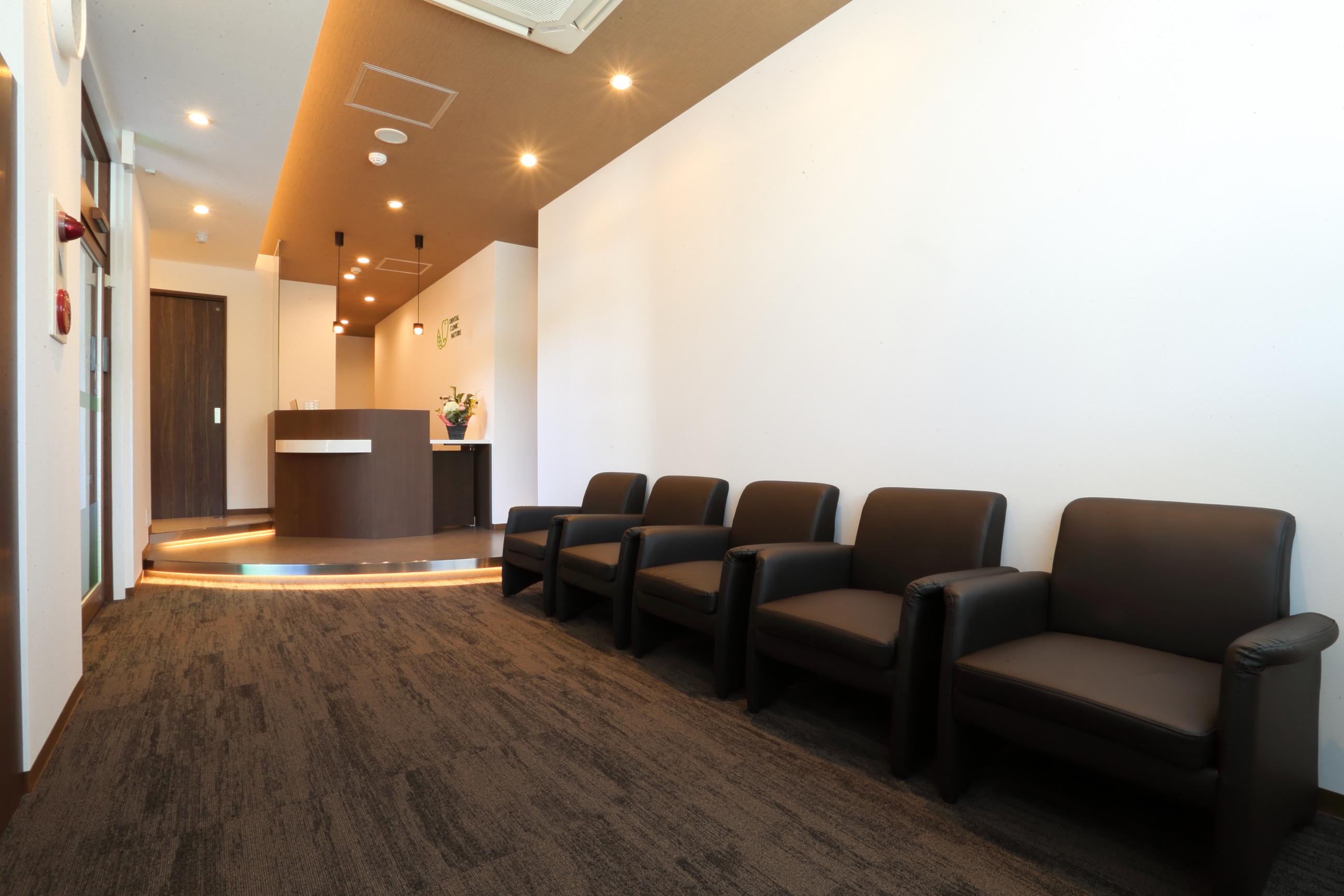 歯科ナチュールの待合室