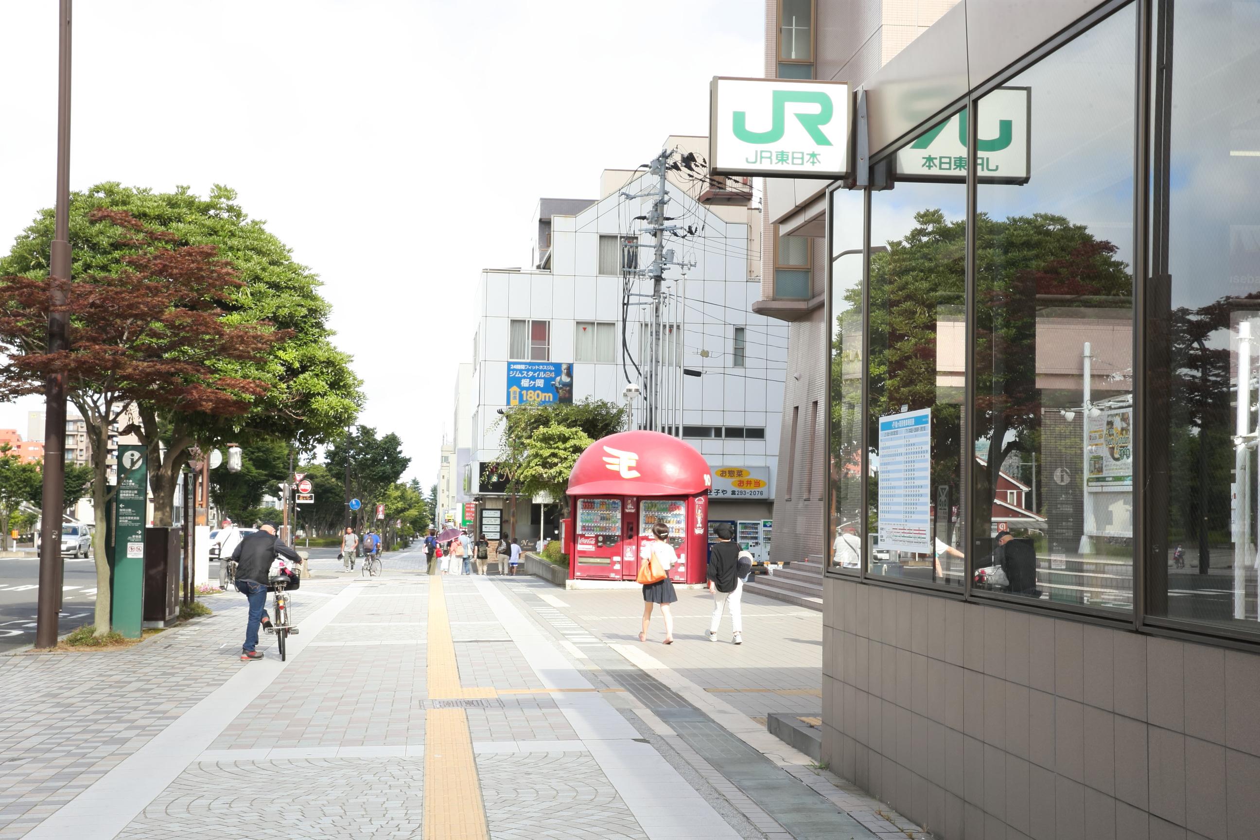 歯科ナチュールへのアクセス②仙台サンプラザを東へ